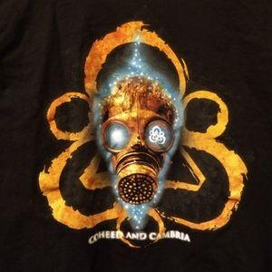 coheed and cambria Shirts - COHEED AND CAMBRIA T-SHIRT - Gas Mask Logo Tee NEW